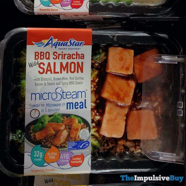 Aqua Star BBQ Sriracha Wild Salmon MicroSteam Meal