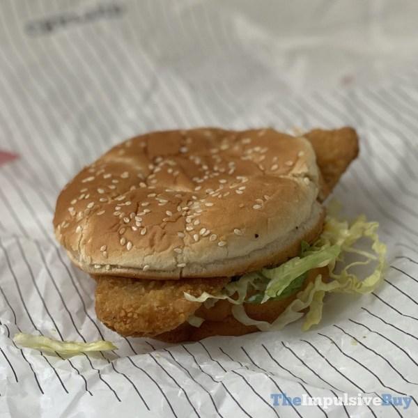 Arby s Fish  N Cheddar Sandwich Profile