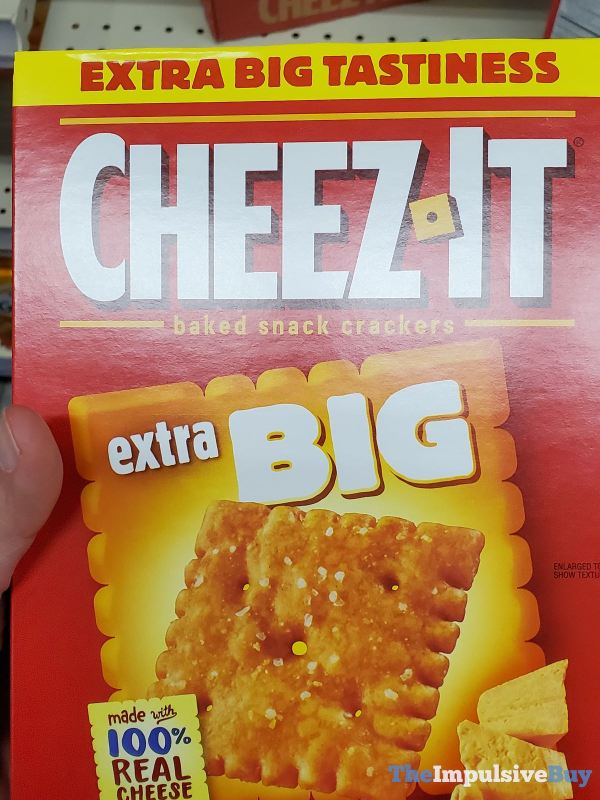 Cheez It Extra Big Crackers