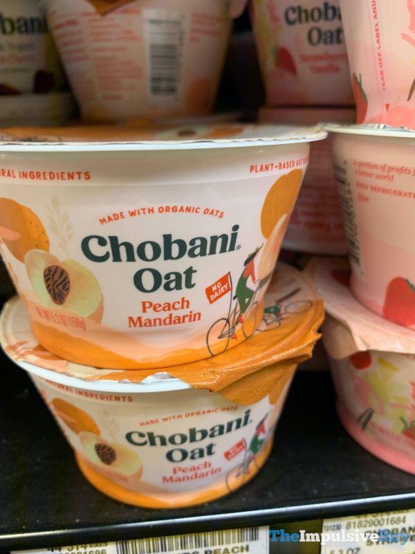 Chobani Oat Peach Mandarin