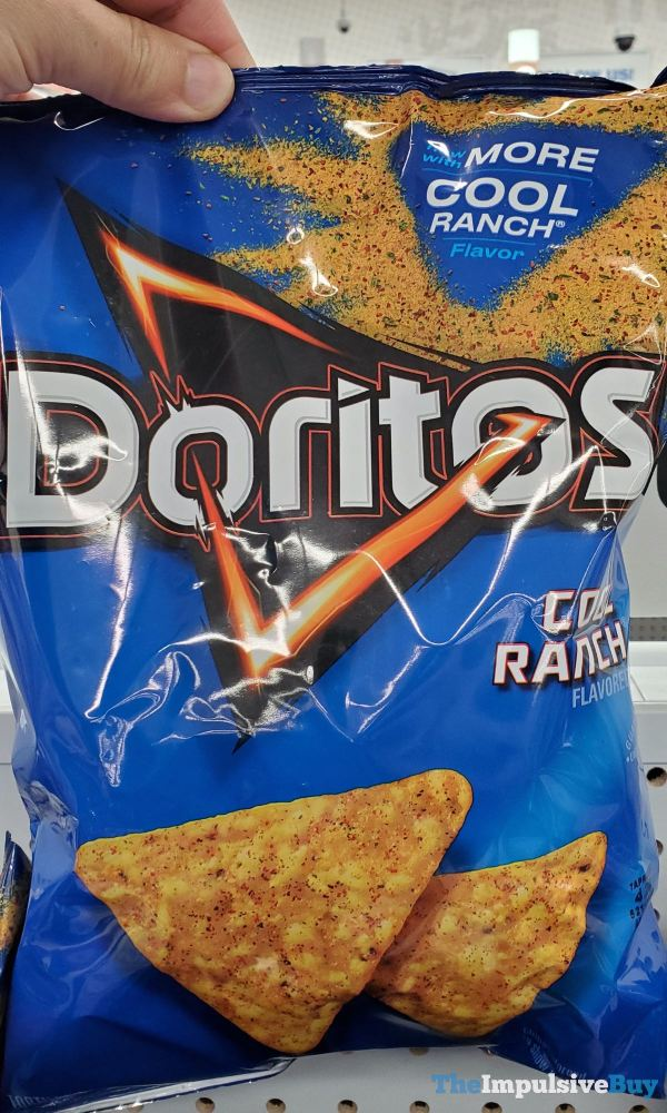 Doritos Cool Ranch now with More Cool Ranch Flavor