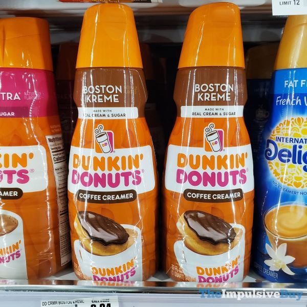 Dunkin Donuts Boston Kreme Coffee Creamer