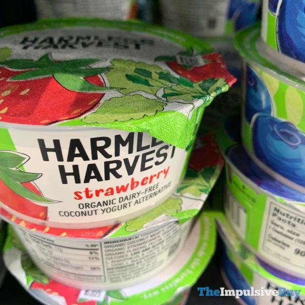 Harmless Harves Strawberry Coconut Yogurt Alternative