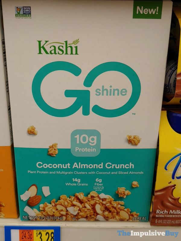 Kashi Go Shine Coconut Almond Crunch Cereal