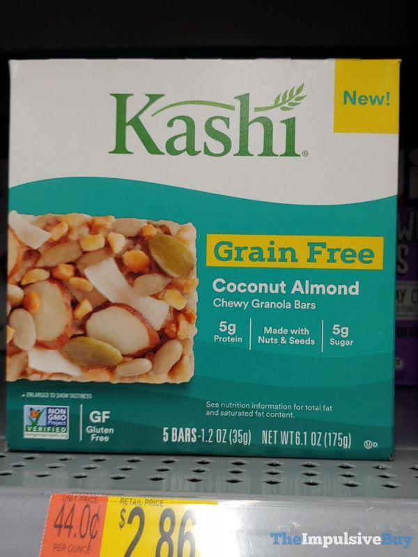 Kashi Grain Free Coconut Almond Chewy Granola Bars