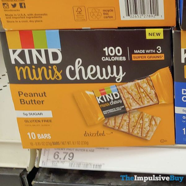 Kind Minis Chewy Peanut Butter