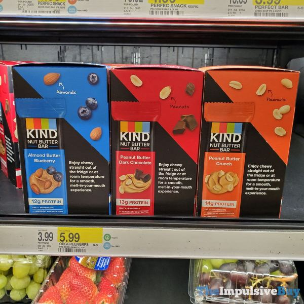 Kind Refrigerated Nut Butter Bars