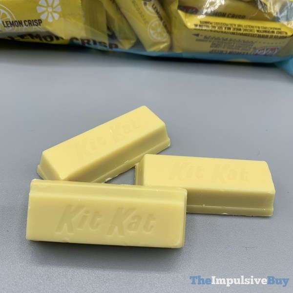 Kit Kat Lemon Crisp Coating