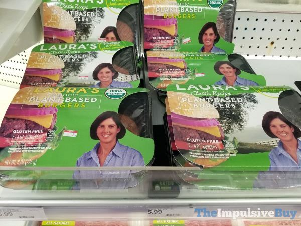 Laura s Organic Plant Based Burgers