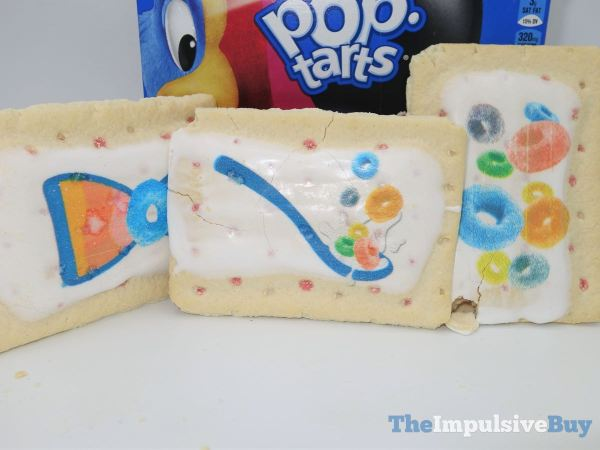 Limited Edition Froot Loops Pop Tarts Printed Frosting