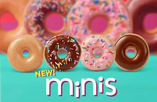 New Krispy Kreme Minis