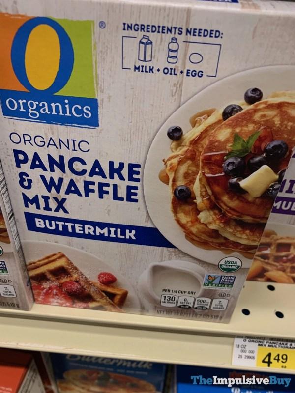 Organics Buttermilk Pancake  Waffle Mix