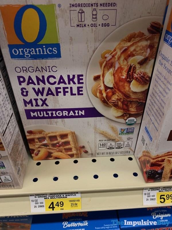 Organics Multigrain Pancake  Waffle Mix