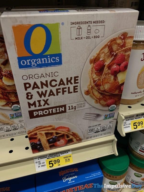 Organics Protein Pancake  Waffle Mix