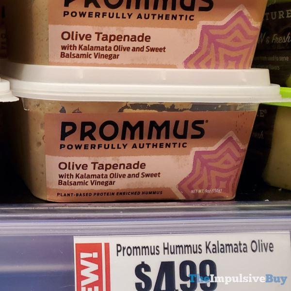 Prommus Olive Tapenade Hummus