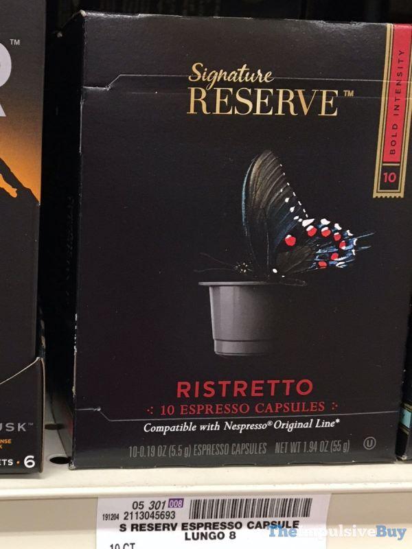 Signature Reserve Ristretto Espresso Capsules