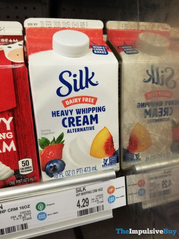 Silk Dairy Free Heavy Whipping Cream Alternative