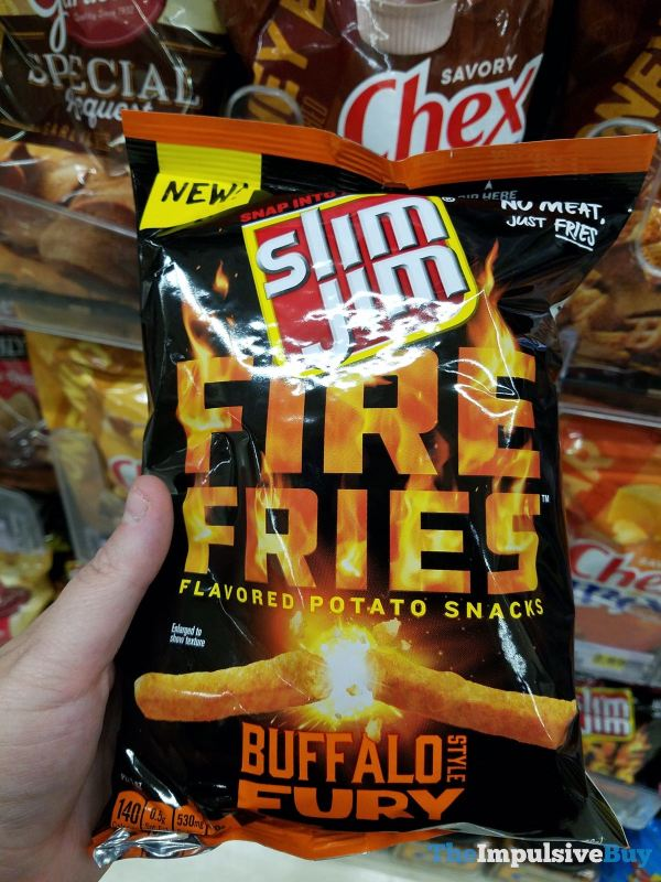 Slim Jim Buffalo Fury Fire Fries