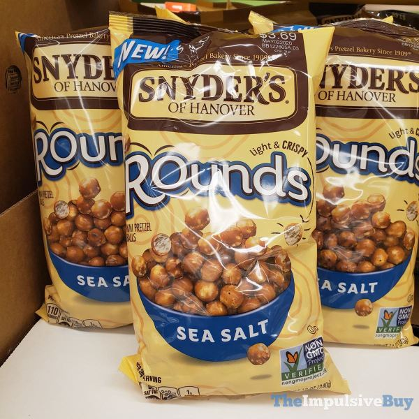 Snyder s of Hanover Sea Salt Rounds