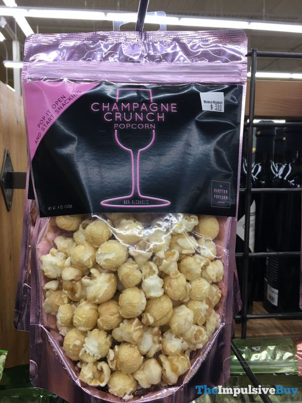 The Hampton Popcorn Company Champagne Crunch Popcorn