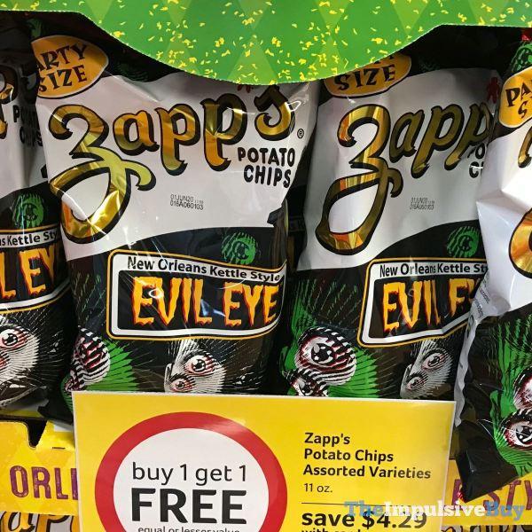 Zapp s New Orleans Kettle Style Evil Eye Potato Chips