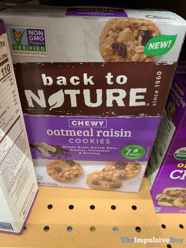 Back to Nature Chewy Oatmeal Raisin Cookies