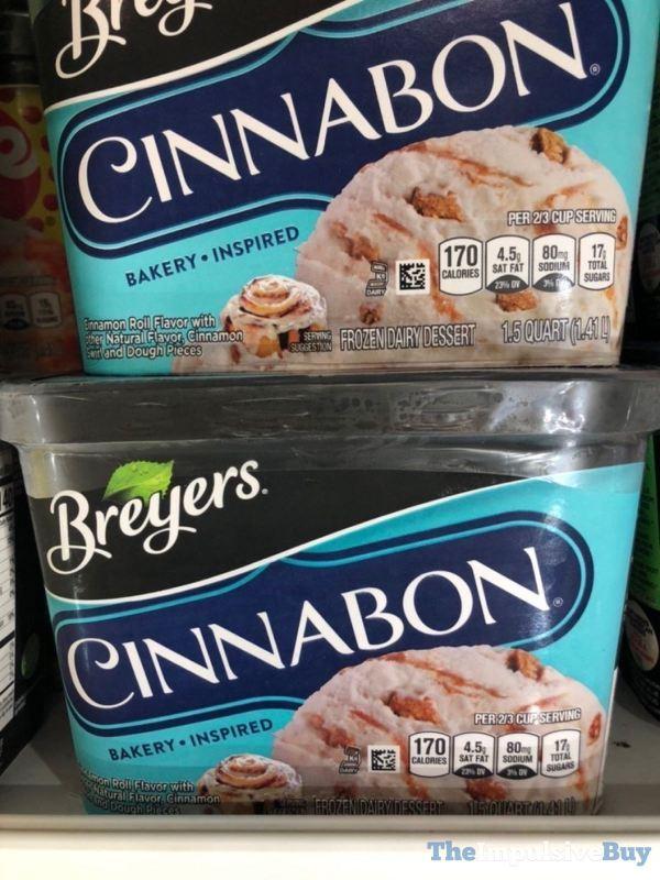 Breyers Cinnabon Frozen Dairy Dessert