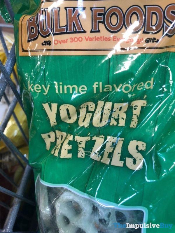 Bulk Foods Key Lime Flavored Yogurt Pretzels