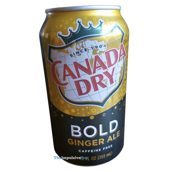Canada Dry Bold Ginger Ale Can