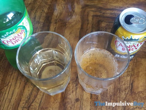 Canada Dry Bold Ginger Ale Fizzy