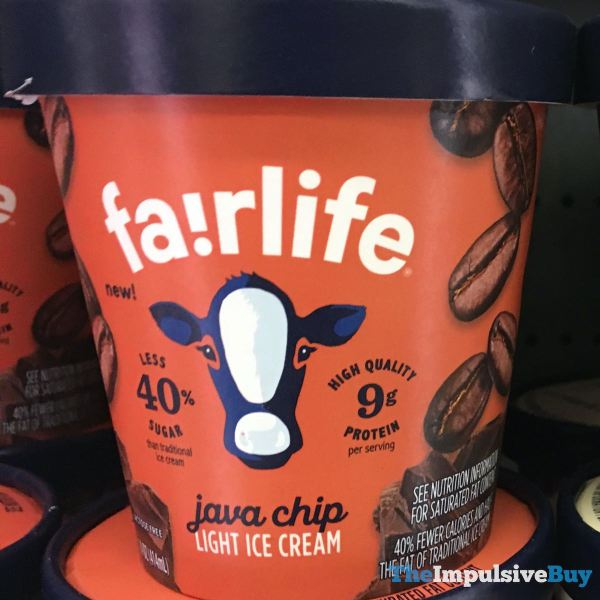 Fairlife Java Chip Light Ice Cream