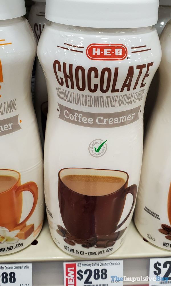 H E B Chocolate Coffee Creamer