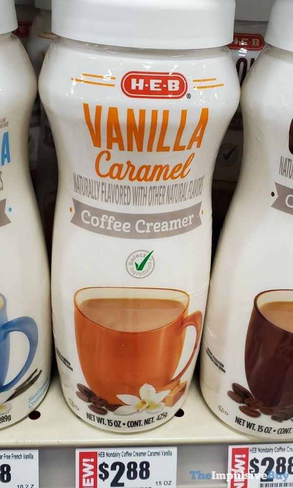 H E B Vanilla Caramel Coffee Creamer