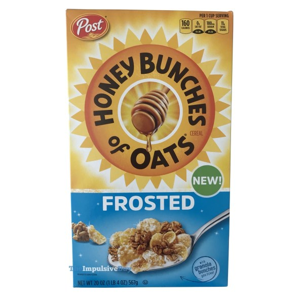 Honey Bunches of Oats Frosted Cereal