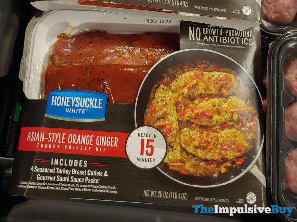 Honeysuckle White Asian Style Orange Ginger Turkey Skillet Kit