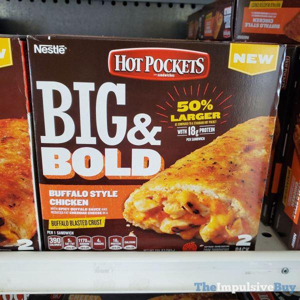 Hot Pockets Big  Bold Buffalo Style Chicken
