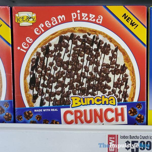 Ice Box Buncha Crunch Ice Cream Pizza