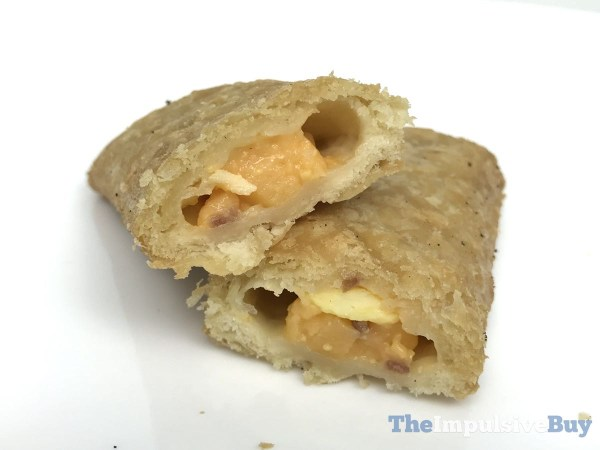 Jack in the Box Loaded Breakfast Croissant Stick Innards