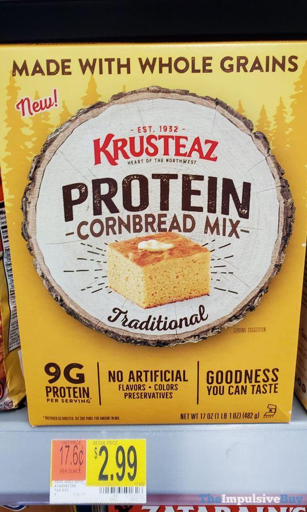 Krusteaz Protein Cornbread Mix