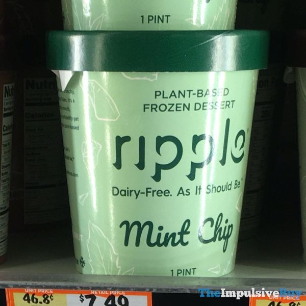 Ripple Mint Chip Plant Based Frozen Dessert