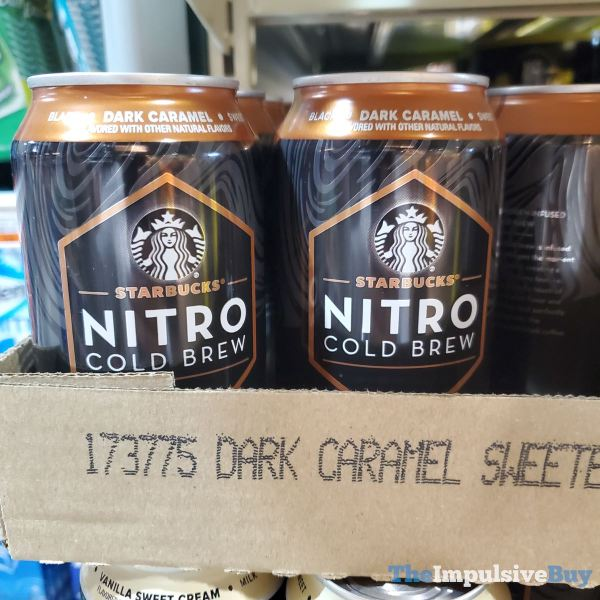 Starbucks Nitro Cold Brew Dark Caramel