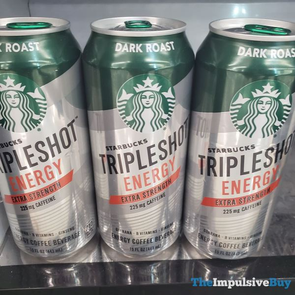 Starbucks Tripleshot Energy Dark Roast