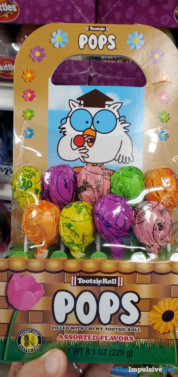 Tootsie Pops Spring Assorted Flavors