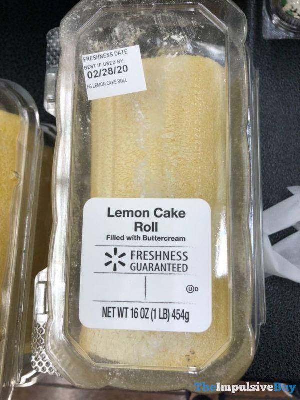 Walmart Lemon Cake Roll