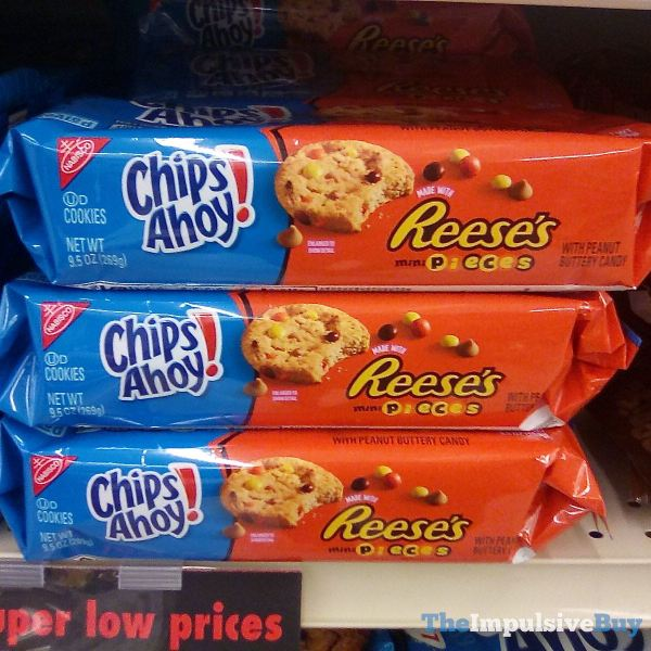 Chips Ahoy Made with Reese s Pieces Cookies