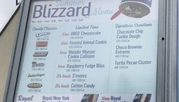 Review Dairy Queen Frosted Animal Cookie Blizzard The Impulsive Buy