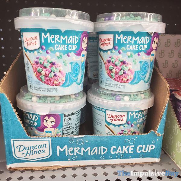Duncan Hines Mermaid Cake Cup 1