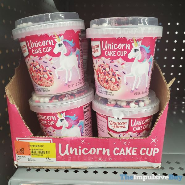 Duncan Hines Unicorn Cake Cup 1