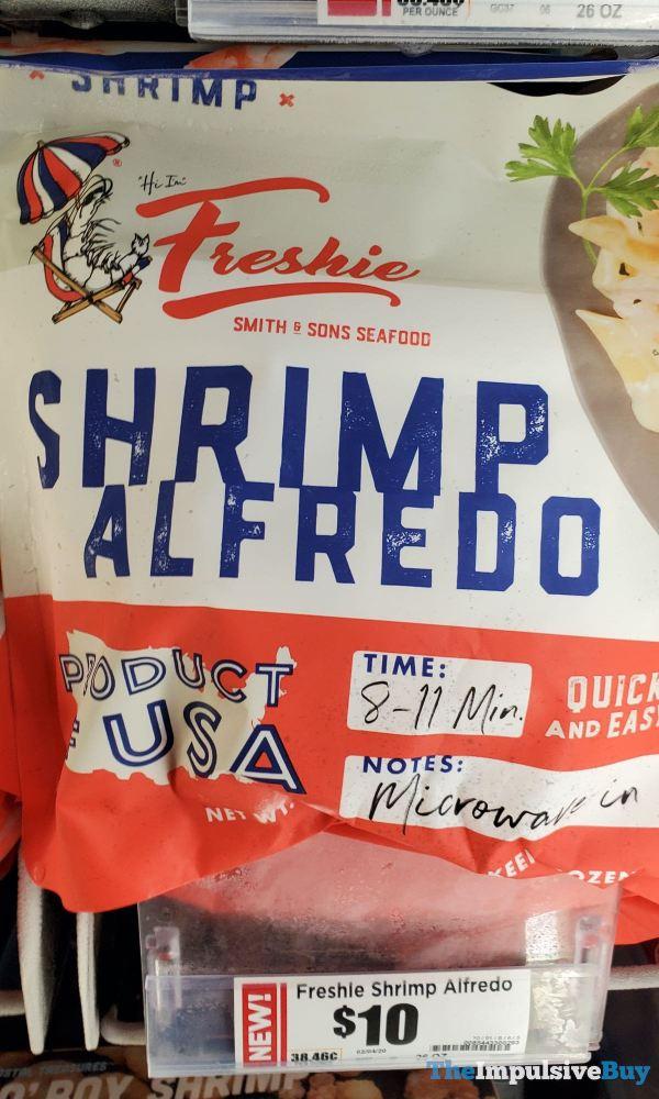 Freshie Shrimp Alfredo