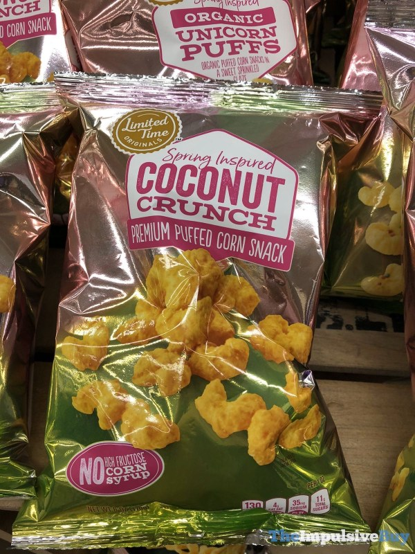 Giant Limited Time Originals Spring Inspired Coconut Crunch Premium Puffed Corn Snack